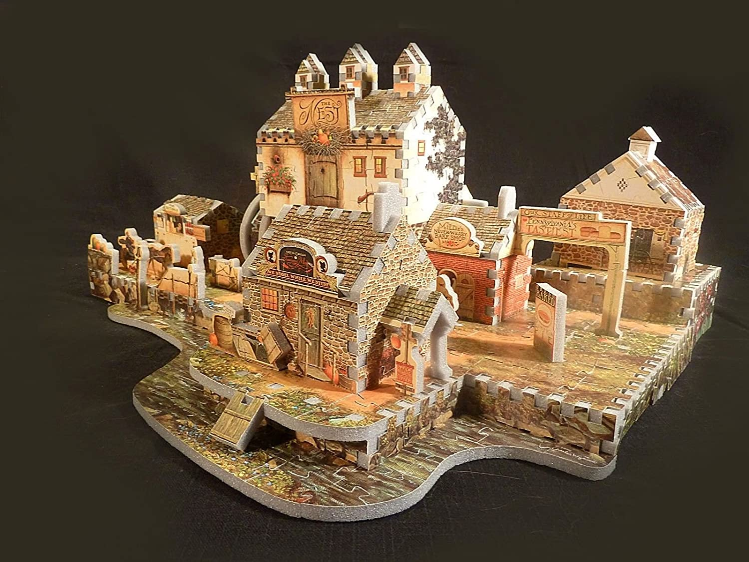 【WEB限定】 Old Mill by at Stony Jigsaw Creek, Wrebbit 745 Piece 3D Jigsaw Puzzle Made by Wrebbit Puzz-3D by Wrebbit [並行輸入品] B006GY0HJ8, 向日市:740e862b --- quiltersinfo.yarnslave.com