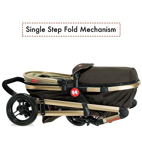 Fisher-Price - Hiker Luxury Stroller Cum Pram (Cozy Brown)