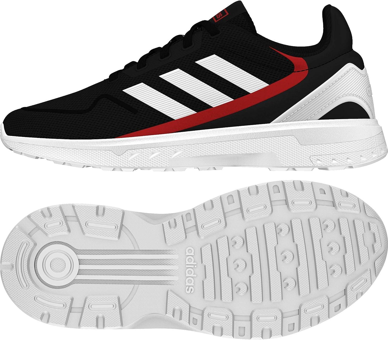 adidas Nebzed K, Sport Shoes Unisex niños, Negbás Ftwbla Escarl, 35 EU: Amazon.es: Zapatos y complementos