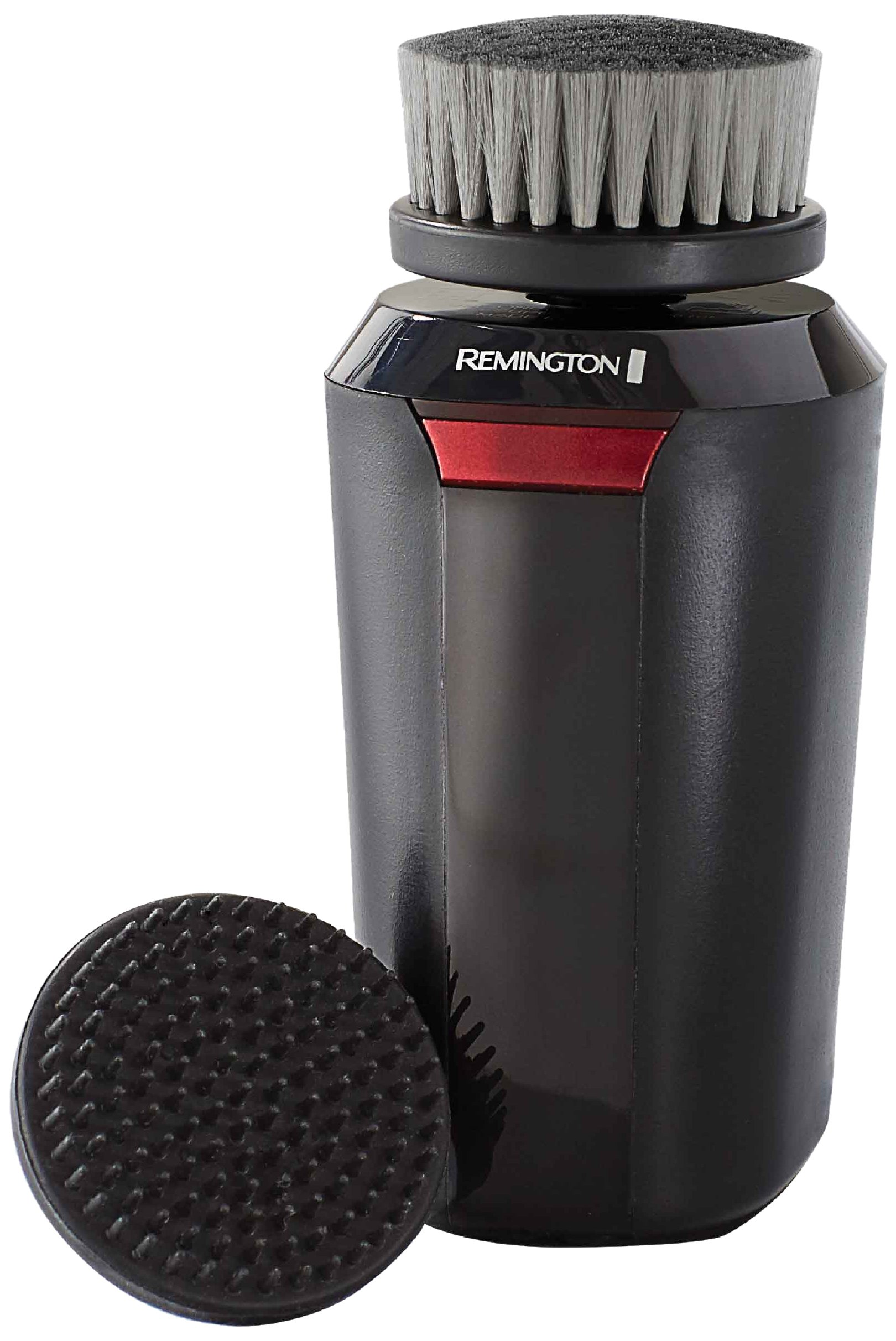 Remington Reveal Men's Compact Facial Cleansing Brush with Pre Shave and Charcoal Heads (FC1500B)