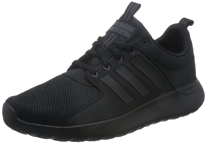 adidas Herren Cloudfoam Lite Racer Laufschuhe  40 2/3 EU|Mehrfarbig (Core Black/Core Black/Utility Black F16)