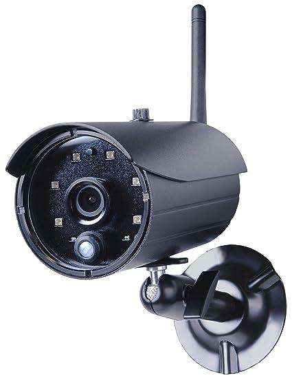 Smartwares 10.008.25 - Cámara exterior (resolución 720p, visión en vivo, 8