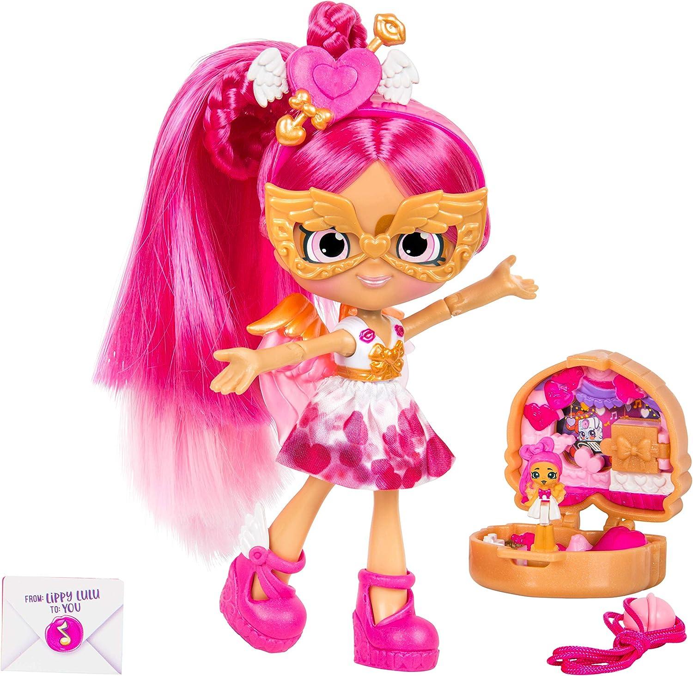 Shopkins Lil Secrets Shoppie - Collectable Doll Plus Wearable Locket - Lippy Lulu