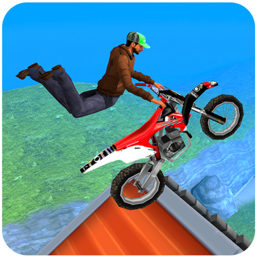 (Extreme Motorcycle Stunt tricks game 2018 : City Motocross bmx rider fever 3d simulator games free rush driver drag hill climb trick trials flight jump 2019 )