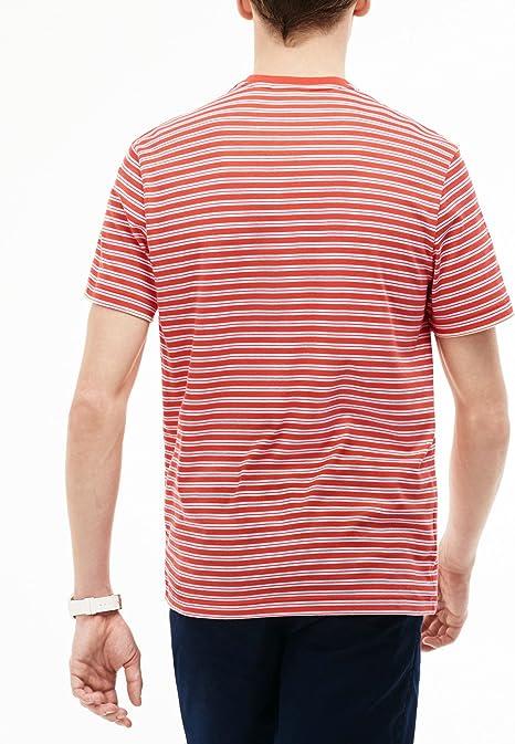 Lacoste Camiseta TH1889-WZV Naranja 7 Naranja: Amazon.es: Ropa y ...