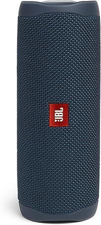 Comprar JBL Flip 5 - Altavoz inalámbrico portátil con Bluetooth, speaker resistente al agua (IPX7), JBL PartyBoost, hasta 12h de reproducción con sonido de calidad, azul