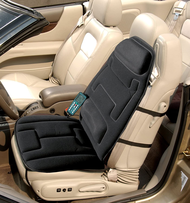 amazon com relaxzen 60 2910 10 motor massage seat cushion with