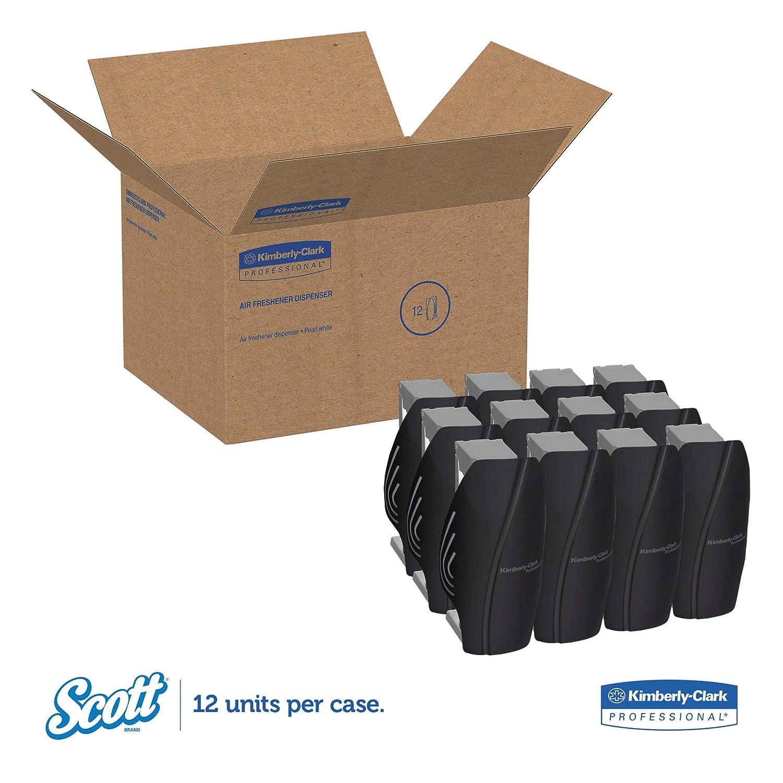 Scott 92621 Continuous Air Freshener Dispenser, 2 4/5 x 2 2/5 x 5, Smoke:  Automotive Air Fresheners: Amazon.com: Home Improvement