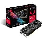 ASUS Radeon RX Vega 64 8GB Overclocked 2048-Bit HBM2 PCI Express 3.0 HDCP Ready Video Card (STRIX-RXVEGA64-O8G-GAMING)