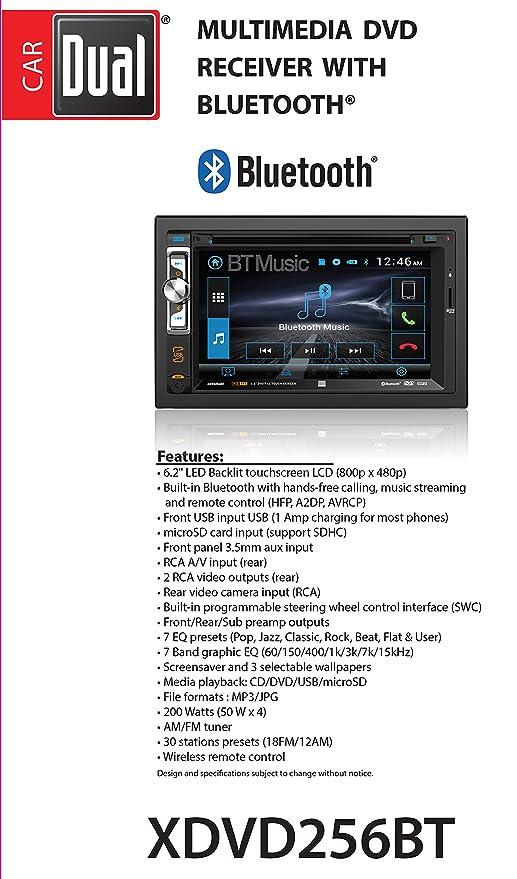 Dual XDVD256BT Digital Multimedia 6 2