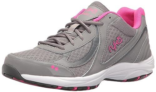1469fe886e9c3a Ryka Women s s Dash 3 Walking Shoe Grey Pink  Amazon.co.uk  Shoes   Bags