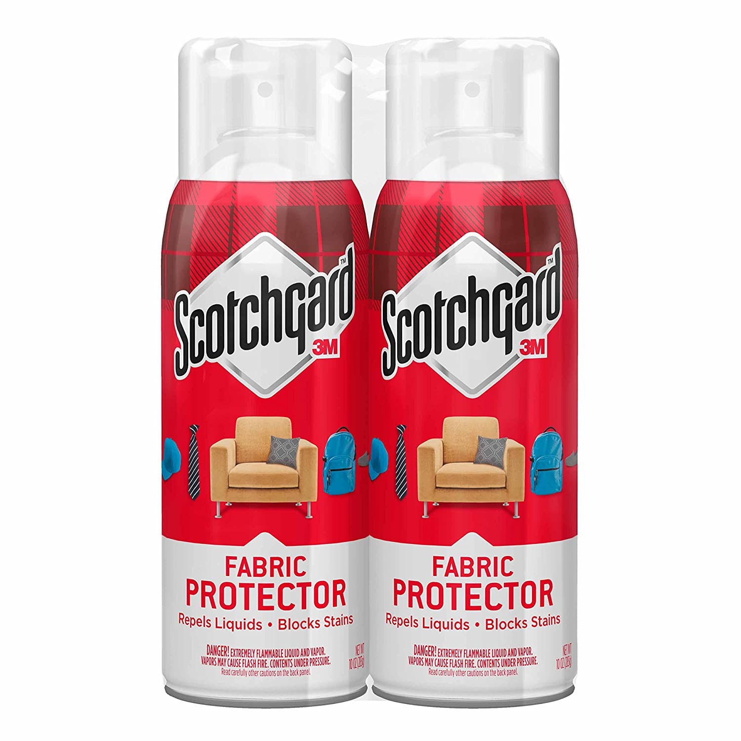 Amazon.com: Scotchgard Fabric U0026 Upholstery Protector, 2 Cans, 10 Ounce:  Home Improvement