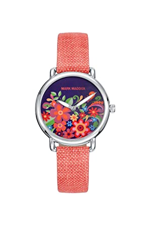 Image Unavailable. Image not available for. Color: RELOJ MARK MADDOX MC2001-03 MUJER