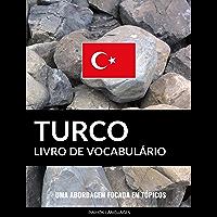 Livro de Vocabulário Turco: Uma Abordagem Focada Em Tópicos