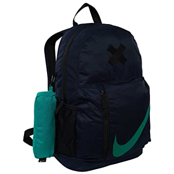 Nike NK elmntl BKPK, Mochila niño, niño, Nk Elmntl Bkpk, Obsidian/Black/Neptune Green, Talla Unica: Amazon.es: Deportes y aire libre