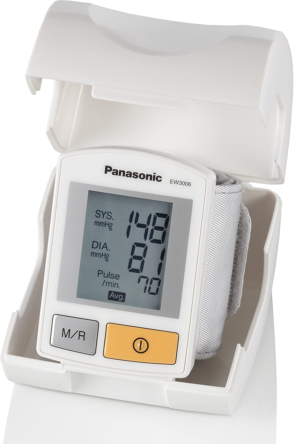 Amazon.com: Panasonic EW3006 Diagnostic Wrist Blood Pressure ...