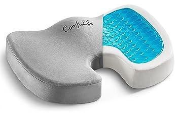 Amazon Com Comfilife Gel Enhanced Seat Cushion Non Slip