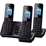 Panasonic KX-TGH263 Trio Link2Mobile Bluetooth Cordless Phone with Call Blocker