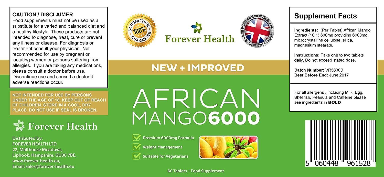 T5 Negro PLUS + Mango Africano African Mango Para Una Rápida Pérdida de Peso! Especialmente Formulado para Aumentar el Metabolismo Para Perder Peso Super ...