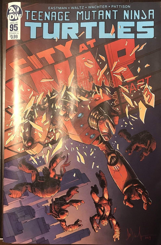Teenage Mutant Ninja Turtle TMNT ONGOING # 95 City at War ...