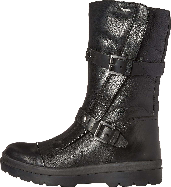 Independientemente secretamente Por adelantado  Geox Women's D Doralia B ABX A Urban Boot, Black, 35 EU/5 M US ...