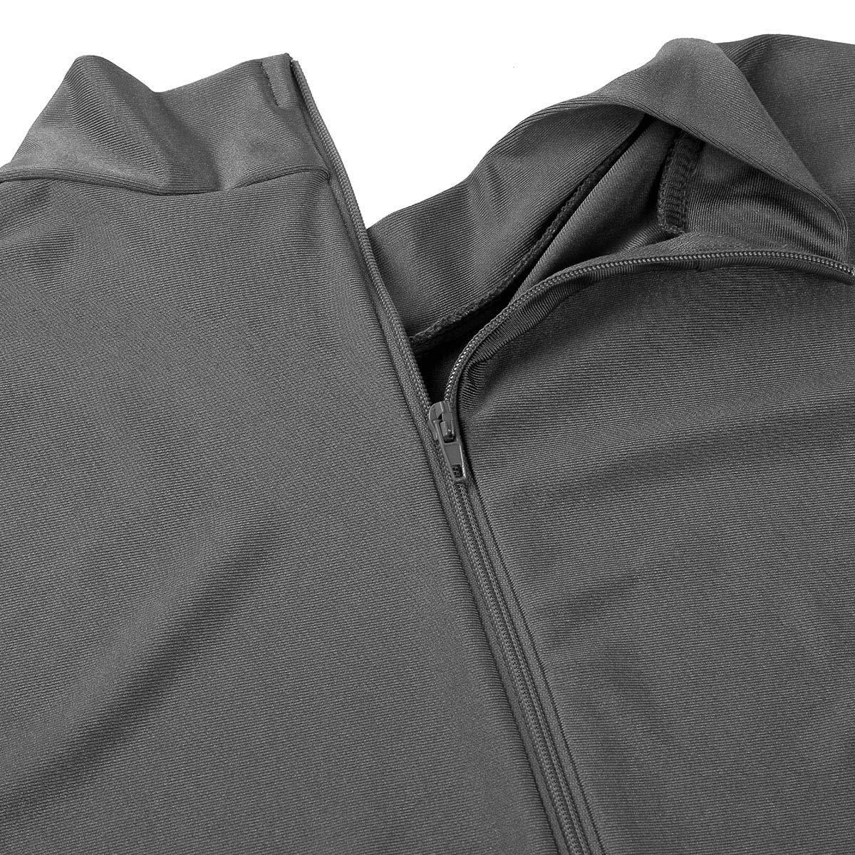 iiniim Mens Turtleneck Lycra Spandex Long Sleeve Zentai Unitard Leotard Bodysuit Dancewear