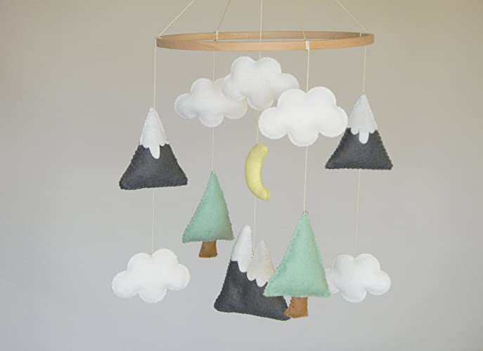 52f838c637f Image Unavailable. Image not available for. Color  Mountains Baby Mobile ...