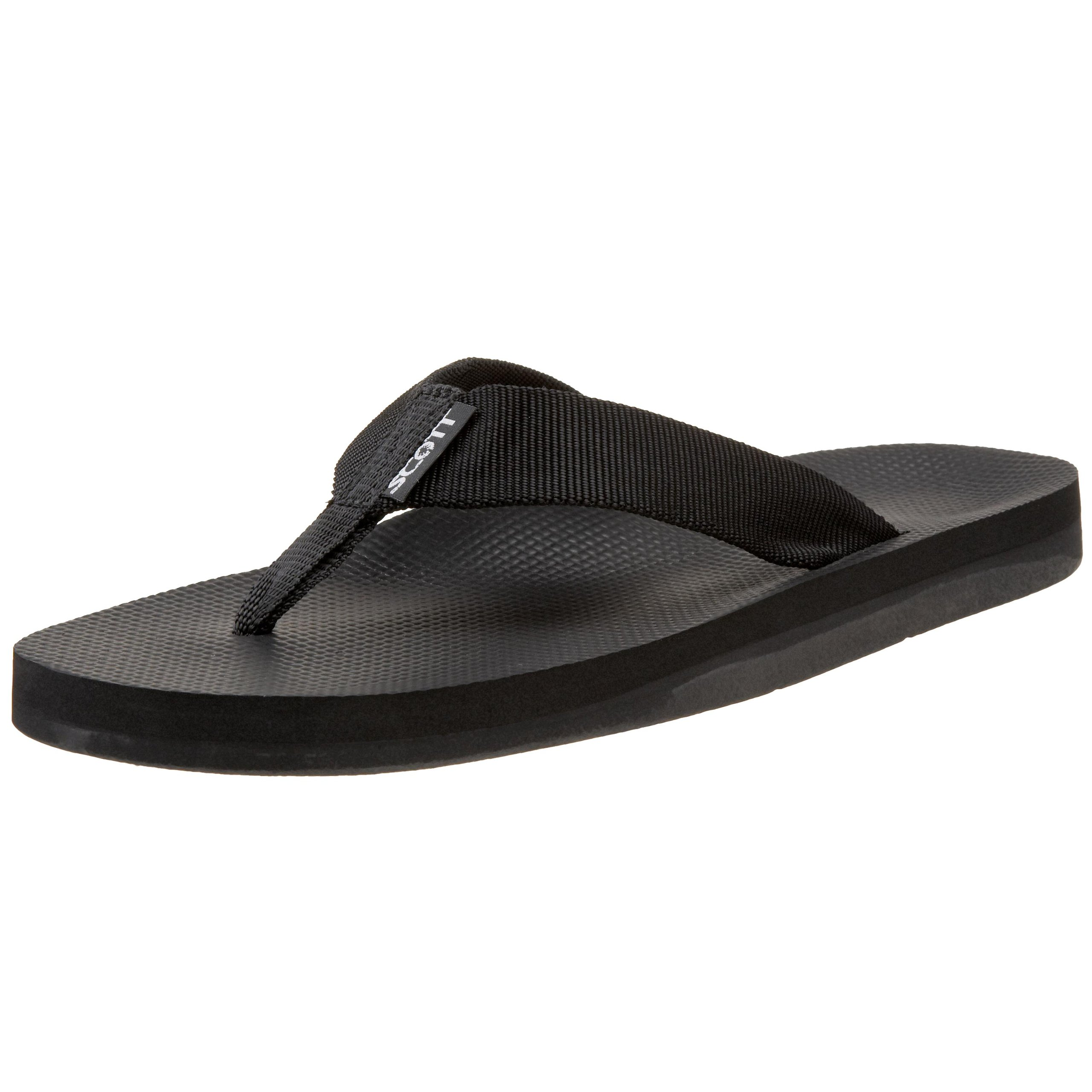 Scott Hawaii Men's Makaha Flip Flop,Black,13 M US