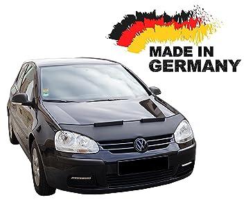 Black Bull VW Golf 5 Jetta 5 Car Bra máscara coche Protège gorro Tuning New: Amazon.es: Coche y moto