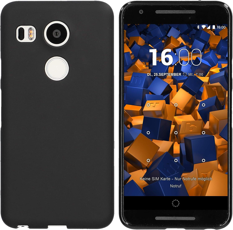 mumbi Funda compatible con LG Nexus 5X, negro: Amazon.es: Electrónica