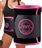 TNT Pro Series Waist Trimmer for Women and Men - Waist Trainer for Weight Loss Sweat Belt - Belly Fat Slimming Stomach Band - Lumbar Support Neoprene Wrap