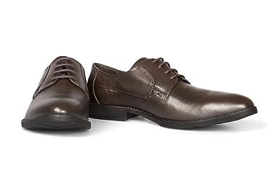premium selection dc7ba afb2b VILEANO Herren Business-Schuhe Derby Lederschuhe Anzugschuhe Schuhe, aus  edlem Leder