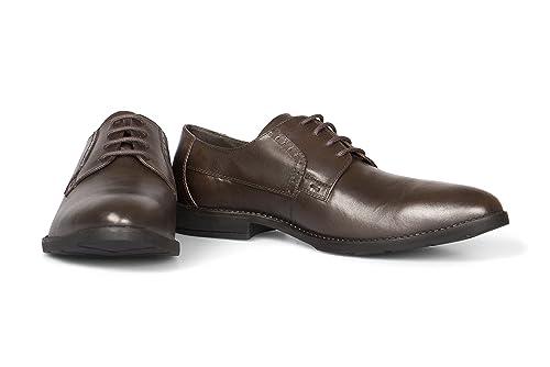 Vileano - Zapatos Derby Hombre: Amazon.es: Zapatos y ...
