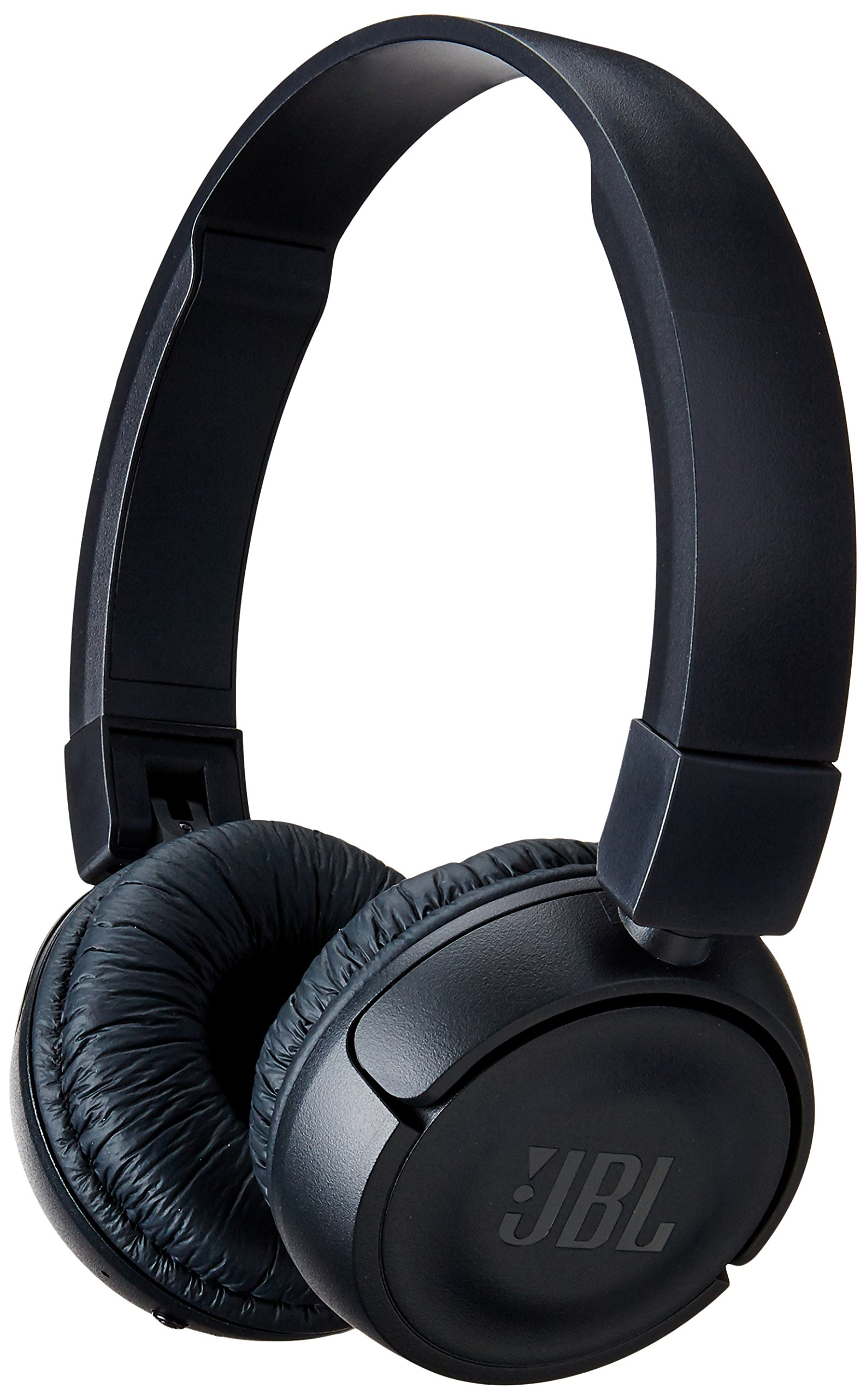 JBL T450BT Wireless On-Ear Headphones with Built-in Remote and Microphone (Black) by JBL
