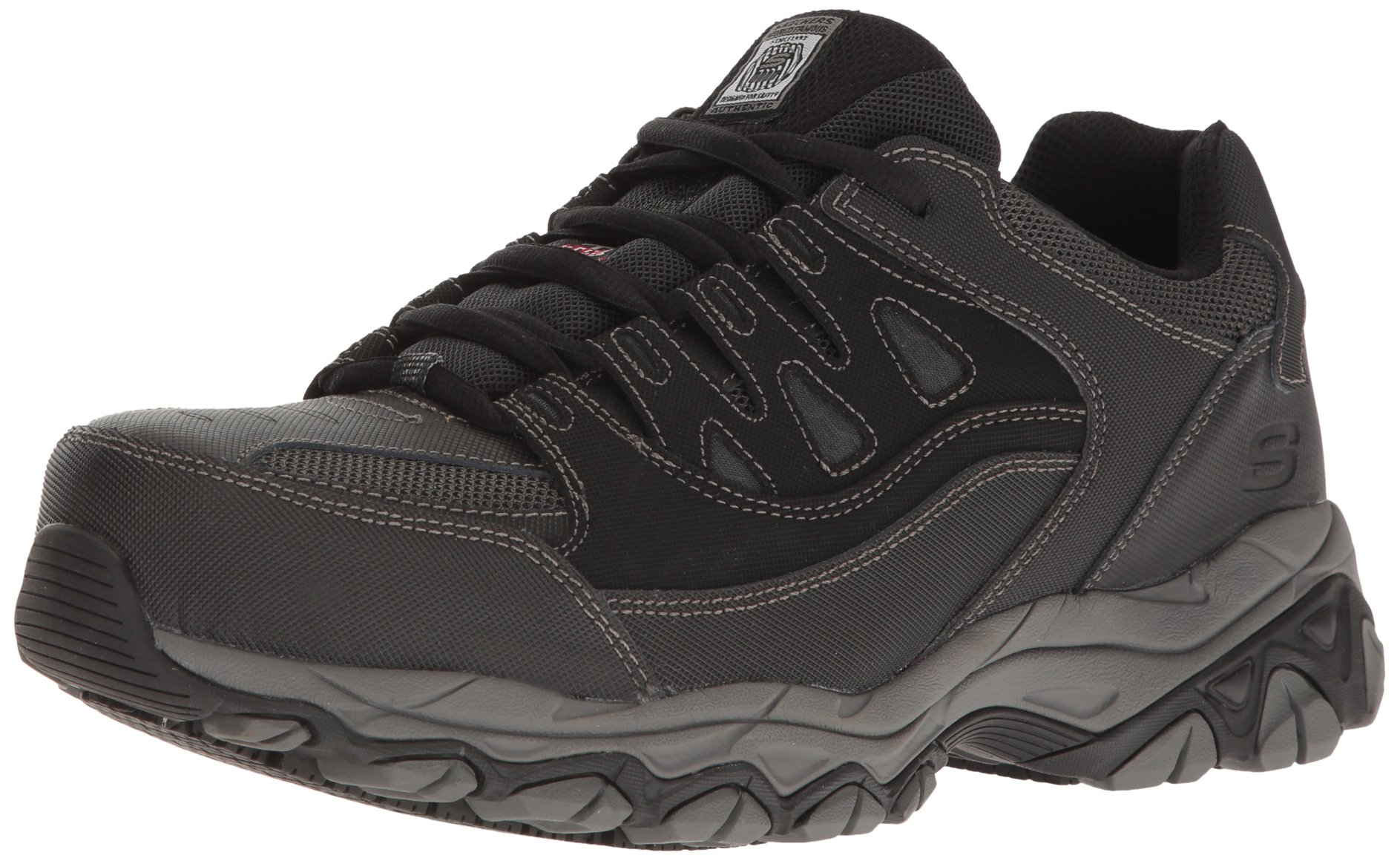 Skechers for Work Men's Holdredge Work Shoe, Black, 10 M US by Skechers
