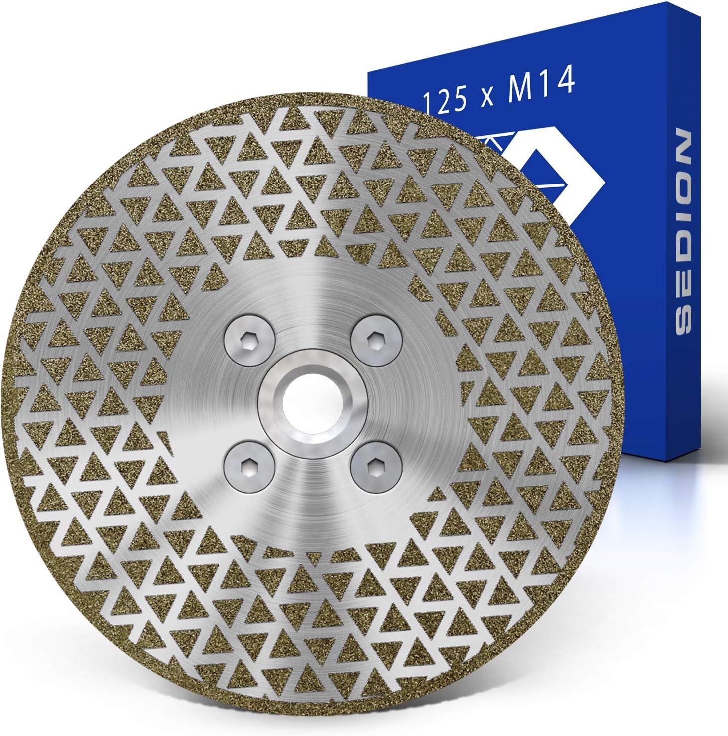 Stein Fliesen Schneide Scheibe Diamantscheibe 54.8x11.1mm Klinge Hochwertig