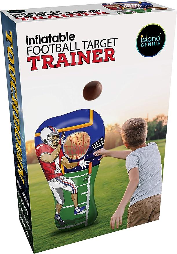 Amazon.com: Juego de fútbol inflable para fiestas, juguetes ...