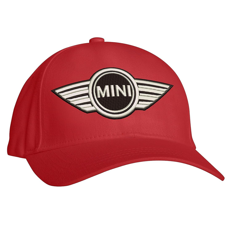 Embroidered Mini Logo Baseball Cap, Workwear Uniform Mini Cooper BMW Baseball Cap Workwear Uniform Mini Cooper BMW Baseball Cap (Red)