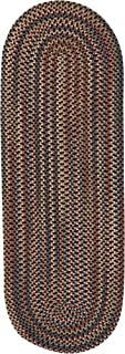 product image for Colonial Mills Cedar Cove Runner Rug 2x11 Dark Brown
