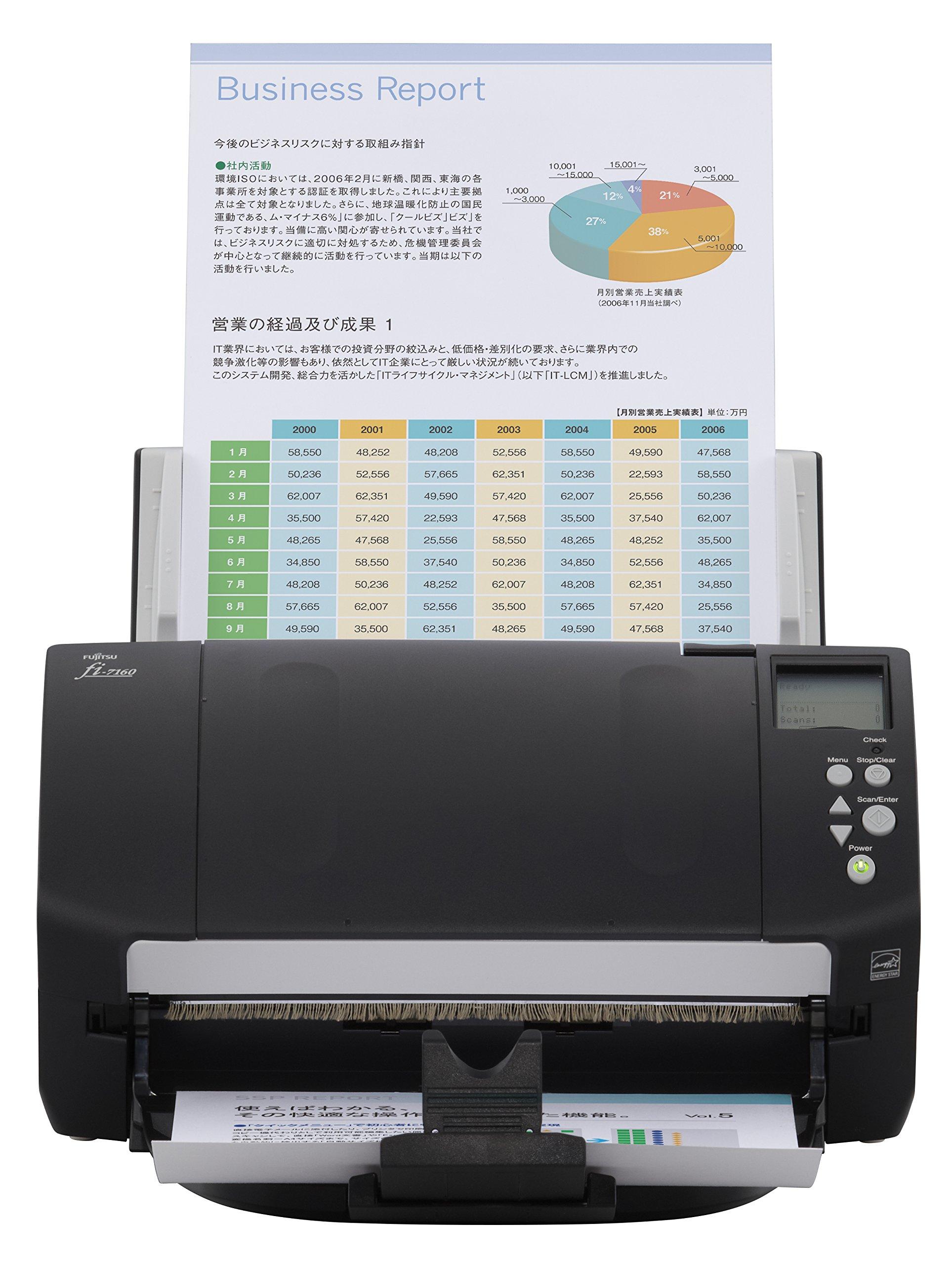 Fujitsu fi-7160 Color Duplex Document Scanner