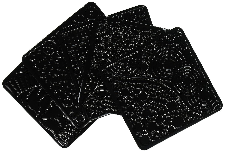 Cedar Canyon Textiles CCT4007 Artists Paintstiks Rubbing Plates 6-Pack Doodles