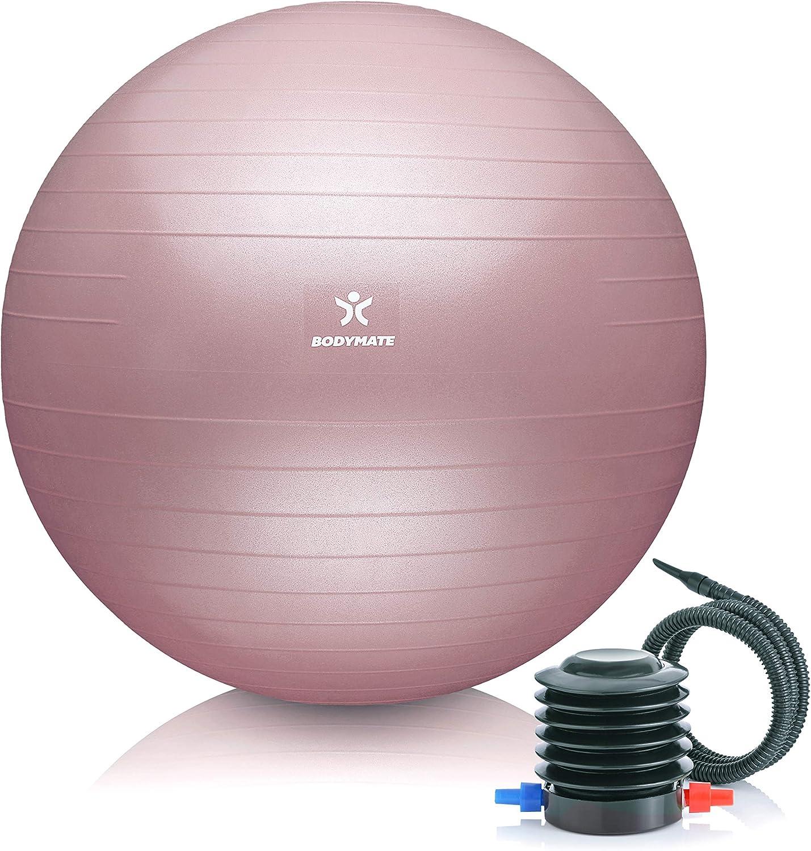 Pumpe /& Workout I vers Gymnastikball GRÜN Sitzball Anti-Burst inkl Größen /&