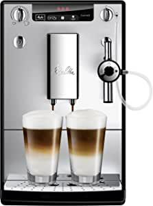 Melitta SOLO & Perfect Melk Bonen-tot-Cup Koffiemachine ZILVER