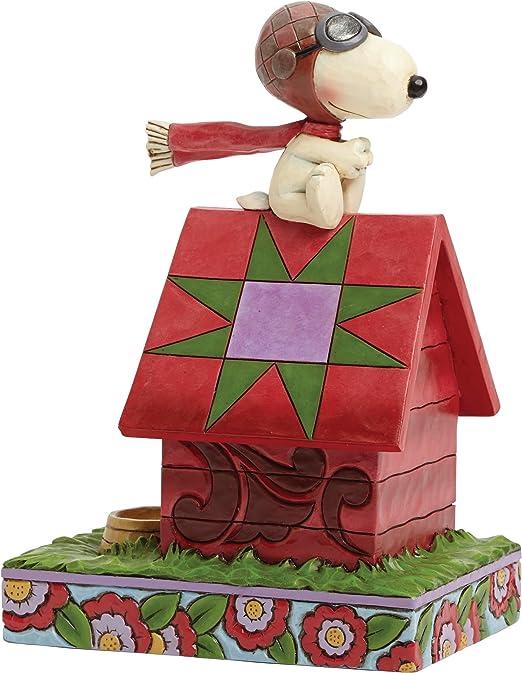 Snoopy aviator pilot figurine whiskers peanuts by schleich figure figuren