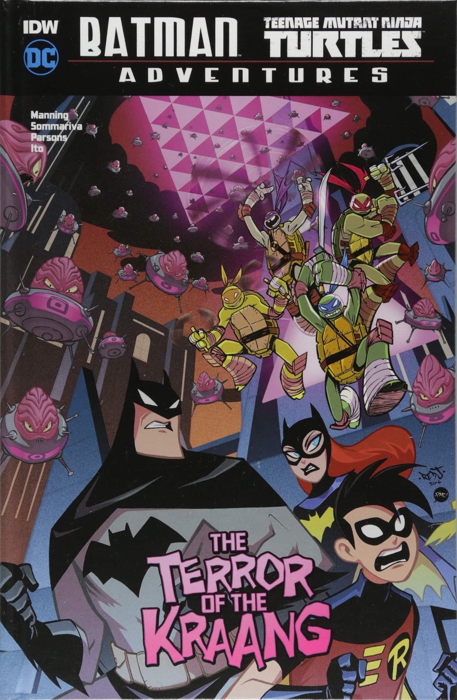 The Terror of the Kraang Batman / Teenage Mutant Ninja ...