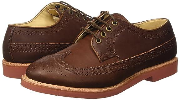Derby Vibram, Chaussures à Lacets Homme, Marron (Marrone), 40 EUWALKOVER