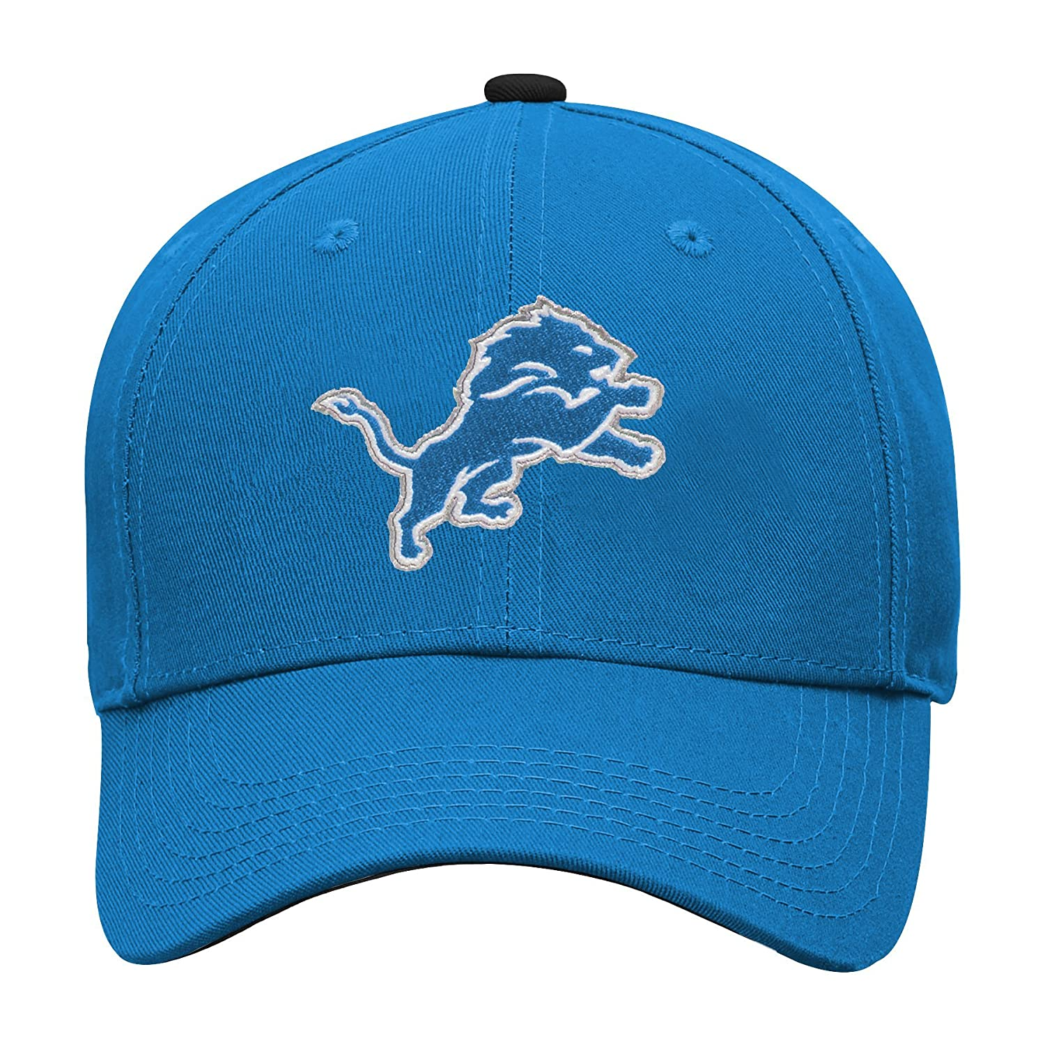 NFL Detroit Lions Youth Outerstuff Structured Adjustable Hat Youth One Size Team Color