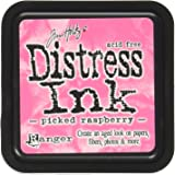 Distress ink Pads Ranger Industries Ink Pads, Picked Raspberry