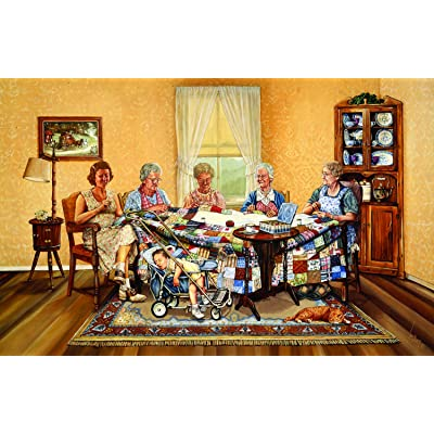 The Gossip Party 1000 pc Jigsaw Puzzle by SUNSOUT INC: Toys & Games