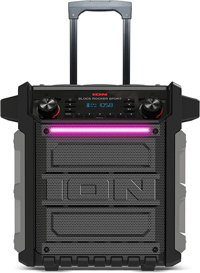 ION Audio Block Rocker Sport - Altavoz Impermeable Ultra-Portátil ...